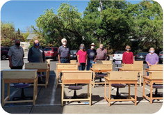 Oakmont group builds and donates desks for Sonoma  County children