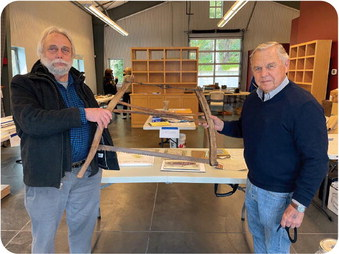 Cutting edge artifact gifted to Glen Ellen Historical Society