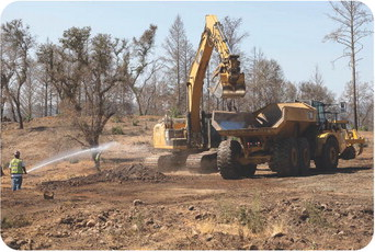 Grading and excavations underway at Kenwood Ranch