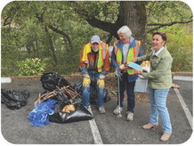 Sonoma Ecology Center and Glen Ellen Forum partner for a creek and street cleanup day